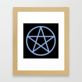 Pentacle Framed Art Print