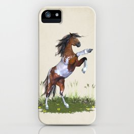 Rearing Horse iPhone Case