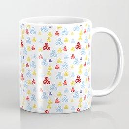 Triskele 14 -triskelion,triquètre,triscèle,spiral,celtic,Trisquelión,rotational Coffee Mug