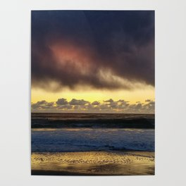 Clouds over Carmel Poster