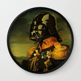 Portrait of Lord Vader Wall Clock
