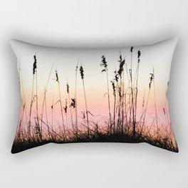 Beach Dunes at Sunset Rectangular Pillow