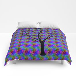 Psychedelic Mystery Tree Comforters