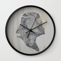 darth Wall Clocks featuring Darth by JoeMcMenamin