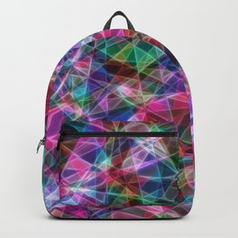 Geometric Stained Glass Backpack