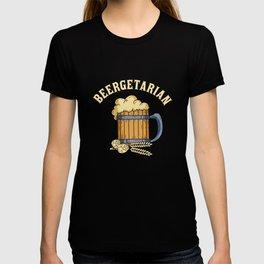 Beergetarian Beergetarian Craft Beer Lover Brewpub Ipa Beer T-shirt