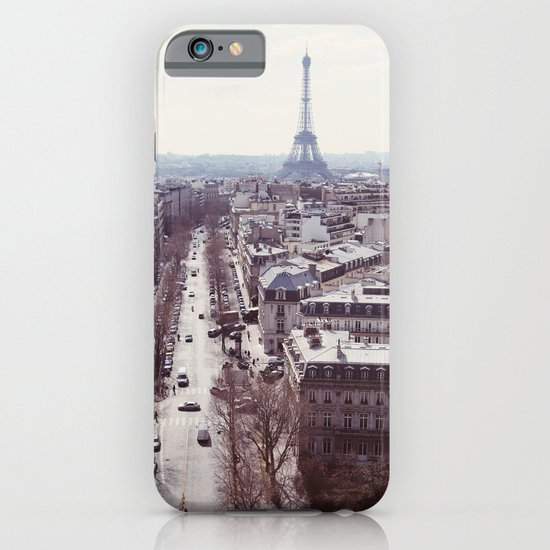 La Tour Eiffel iPhone & iPod Case