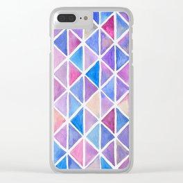 Galaxy Origami Clear iPhone Case