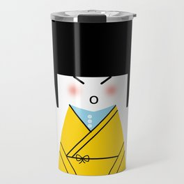 Kimono Doll Travel Mug