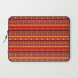 Orange ornament Laptop Sleeve