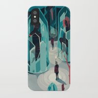 ice iPhone & iPod Cases featuring Ice age by Reno Nogaj