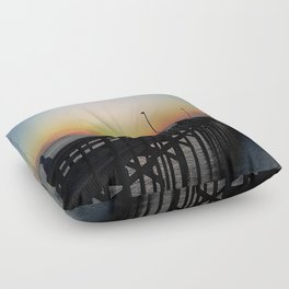 Fishing Floor Pillow