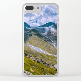 Glacial remains Clear iPhone Case