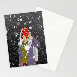 Mask Off Stationery Cards