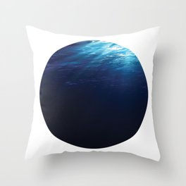 Under Water 8 Throw Pillow