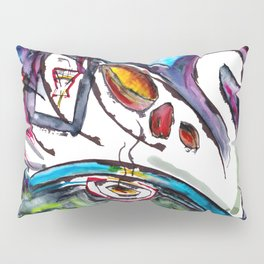Intergalactic Swan Pillow Sham