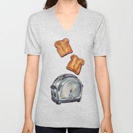 Toaster Unisex V-Neck