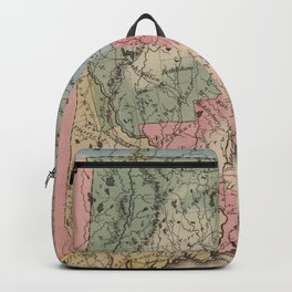 Vintage Map of Connecticut (1823) Backpack
