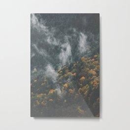 Fall on the Coquihalla II Metal Print