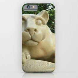 Nittany Lion Shrine Large Print iPhone Case