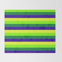 Brazil Summer Throw Blanket