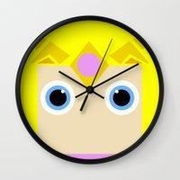 zelda Wall Clocks featuring Zelda by pipocaVFX
