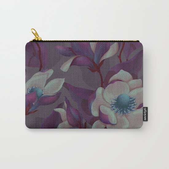magnolia bloom - nighttime version Carry-All Pouch
