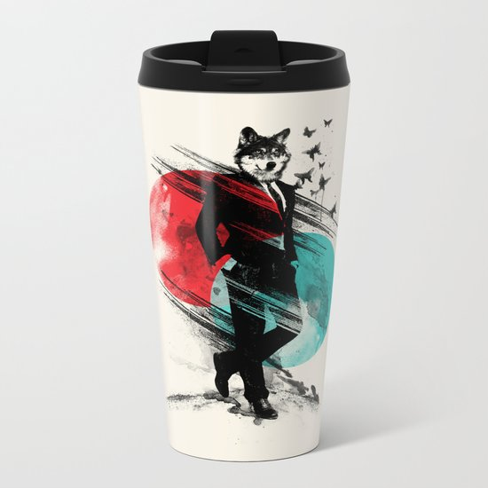 Wolfman Metal Travel Mug