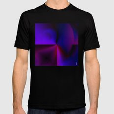 Graphical Expression II Mens Fitted Tee Black MEDIUM