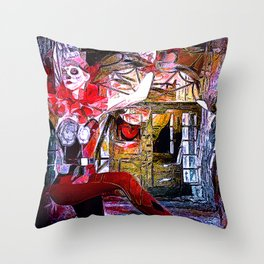 Mama Told Me Not To Come Throw Pillow