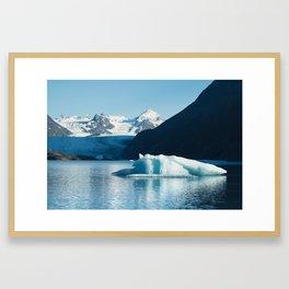 Grewingk Glacier Framed Art Print