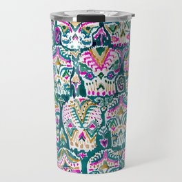CARPE DIEM SKULLS - EMERALD Travel Mug