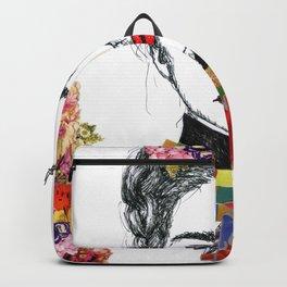 Frida Kahlo Heart Backpack
