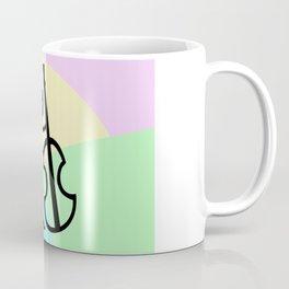 Guitar Figure Colorful Coffee Mug