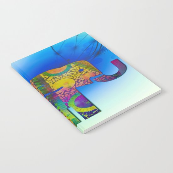 Exploding Elephant  Notebook