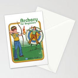 ARCHERY FOR BEGINNERS Stationery Cards