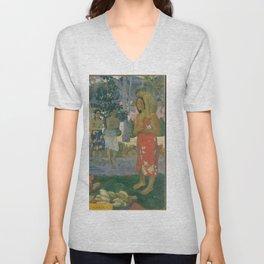 Ia Orana Maria (Hail Mary), Paul Gauguin  Unisex V-Neck