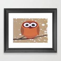 Big Owl Framed Art Print