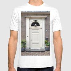 White church door Mens Fitted Tee White MEDIUM