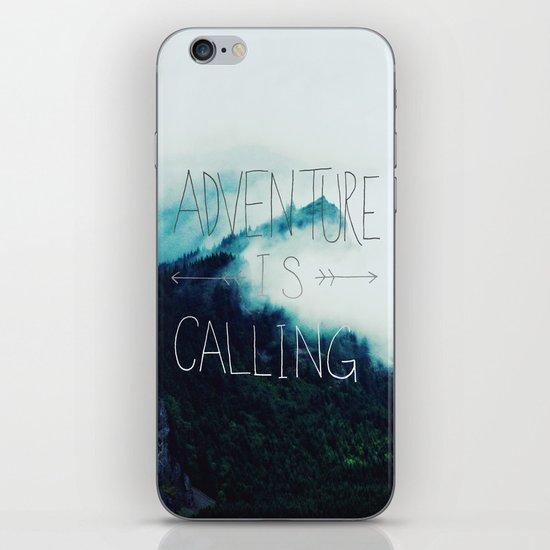Adventure Mountain iPhone & iPod Skin