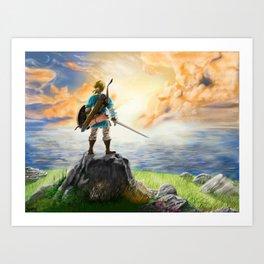 The Legend of Zelda - Breath of the Wild Art Print