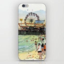 Santa Monica Seaside iPhone Skin