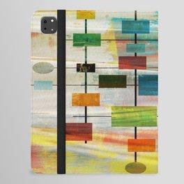 Mid-Century Modern Art 1.3 -  Graffiti Style iPad Folio Case