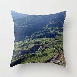 Green Haven Throw Pillow