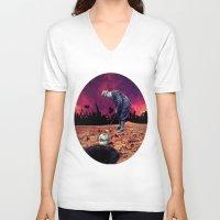 golf V-neck T-shirts featuring Golf by Cs025