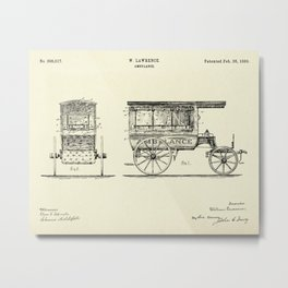 Ambulance-1889 Metal Print