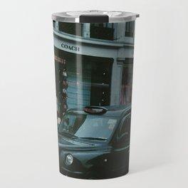 Black cabs - London Travel Mug