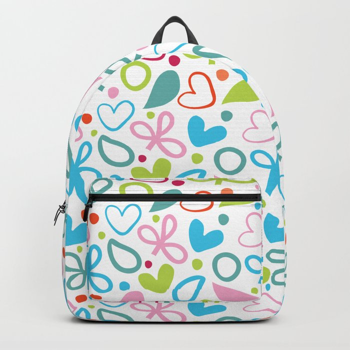 Colorful Lovely Pattern XII Backpack