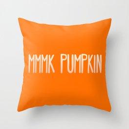 Pumpkin Sass Throw Pillow