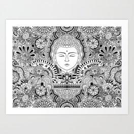 Buddha Power Art Print